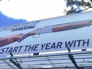 Gympie reacts to cheeky new gun billboard
