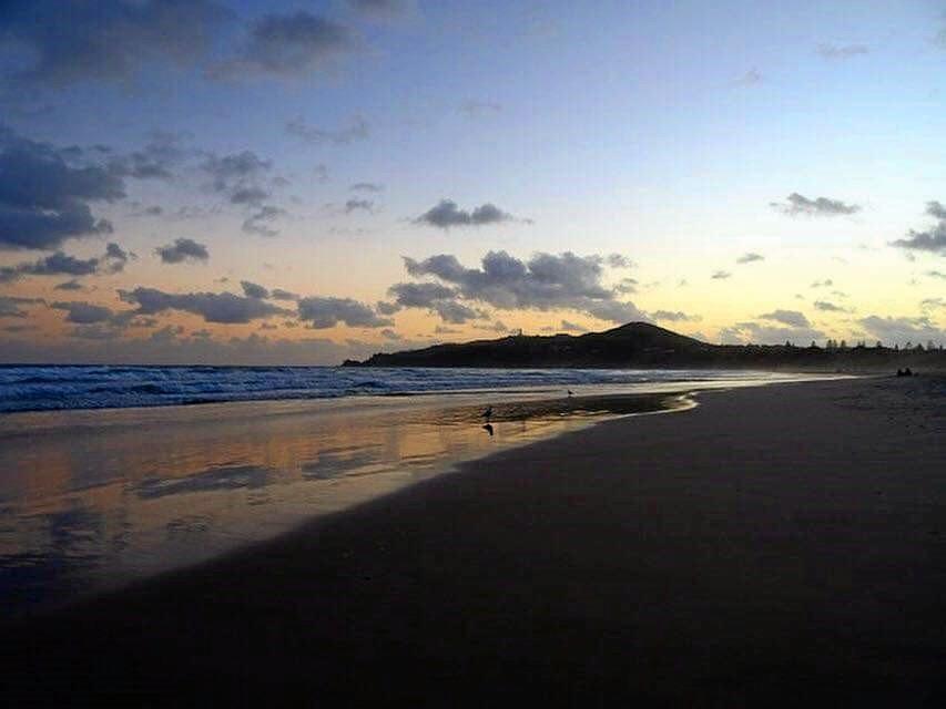 Main Beach, Byron Bay, has been left a