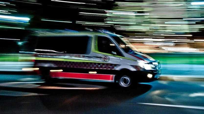 CRASH: A woman has been taken to hospital following a crash.