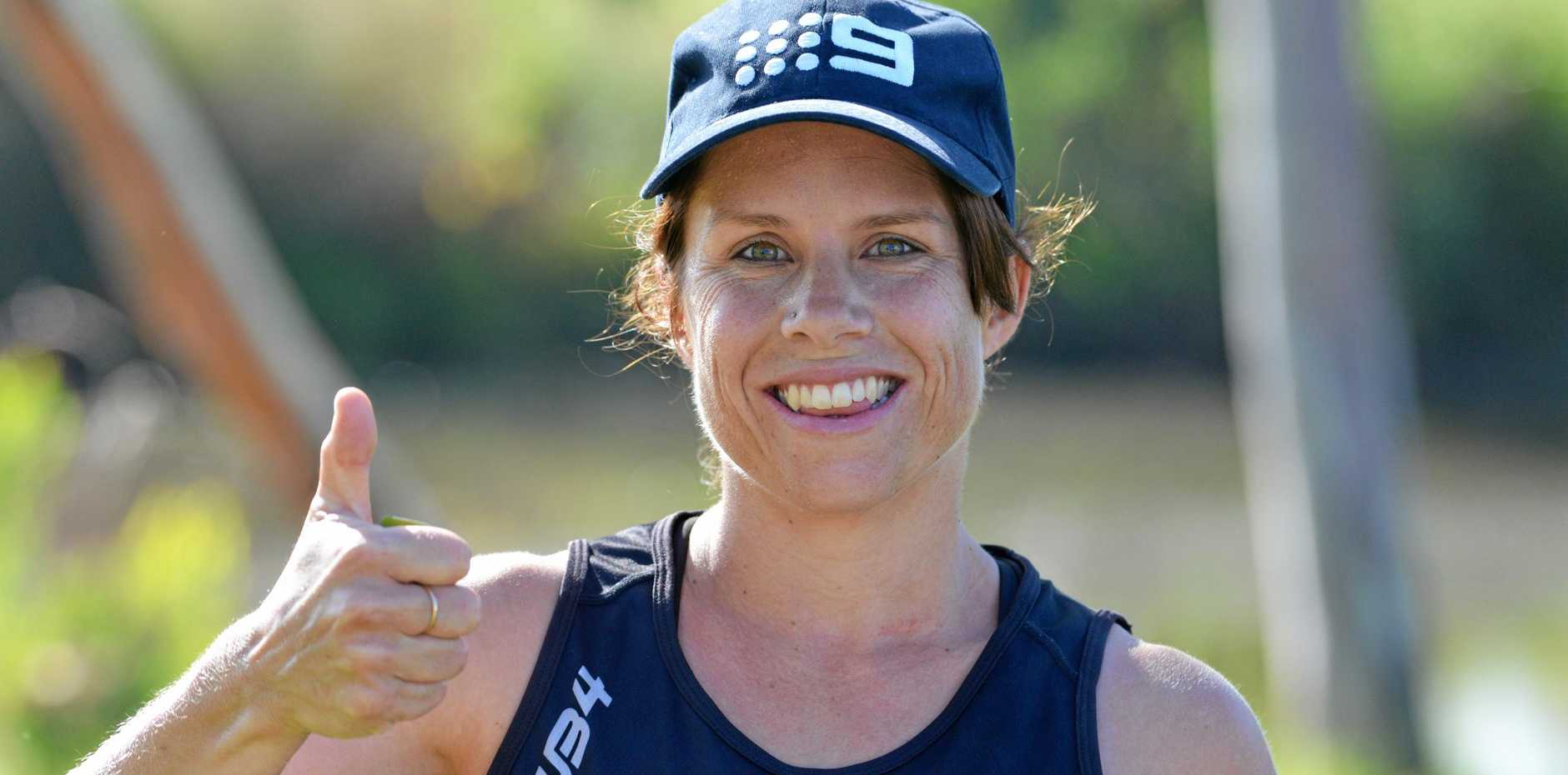 A GOOD RUN: Kym O'Leary was first woman home at the New Year's Day Warwick parkrun.