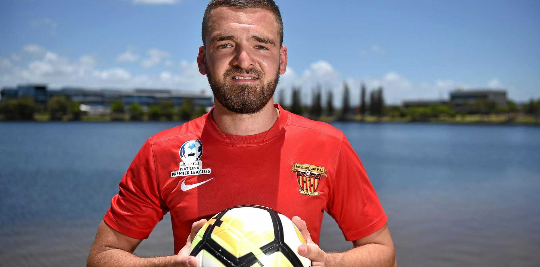 IMPACT MAN: Sunshine Coast Fire's right winger Nico Huet is injury free and ready to make his mark on the National Premier League. The Frenchman was recruited from Brisbane, but played most of his football in his native country.
