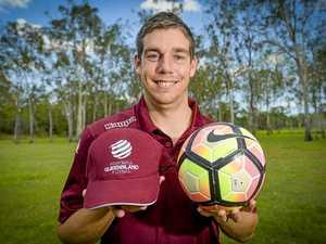 Kicking goals: Adam Knust to represent Queensland