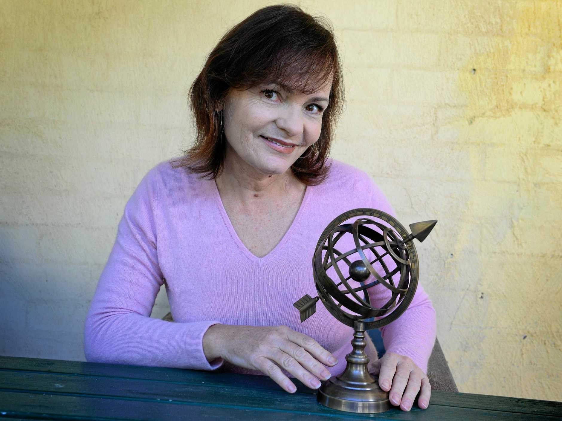BRIGHT FUTURE: Patsy Bennett, Astrologer, of Byron Bay, predicts 2019 to be a year of positive change.