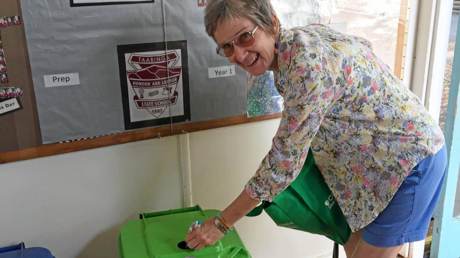 MAKING A DIFFERENCE: Therese McCabe is passionate about encouraging others to think more about their recycling.