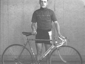 How Gympie cyclist Heseltine made history.