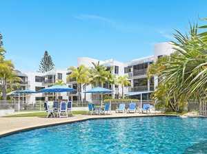 Chic beachfront apartment