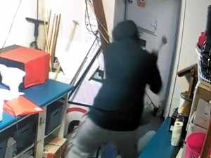 Hotel owner furious after raid by clumsy thief