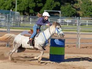 Double for rider at the New Year's Eve Rodeo