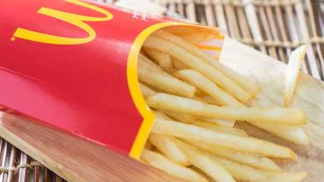 The unnamed worker has revealed the secret to a perfect batch of fries. Picture: iStock
