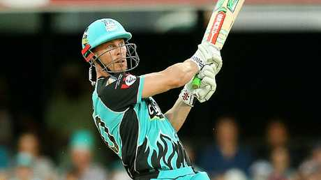 Chris Lynn was going bang.
