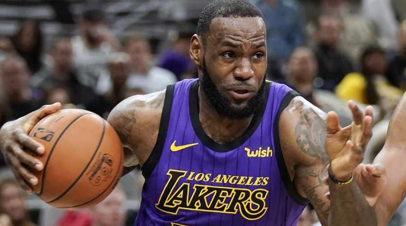 LeBron James continues to add to his legacy in a new chapter in LA. Darren Abate/AP