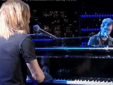 Tim Minchin and Ben Folds singing Better Be Home Soon.