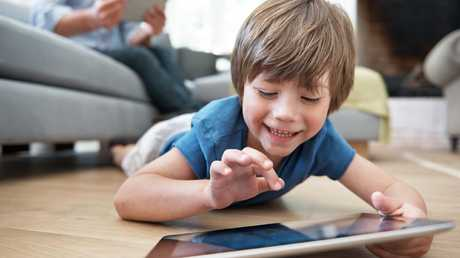 Before the iPad was broken, it had been watched way too much by my son. Picture: iStock