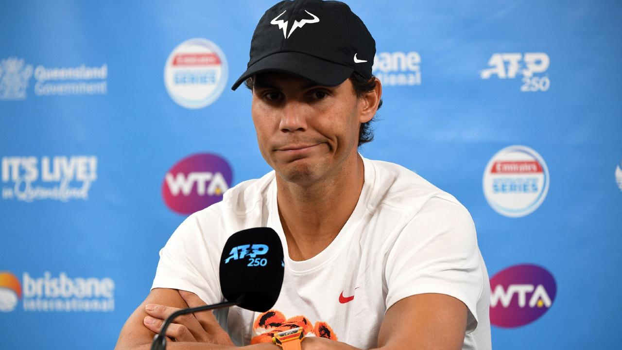 Rafael Nadal needs more court time. Pic: AFP