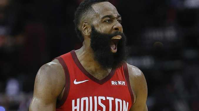 James Harden had a day out.  Picture: Getty Images