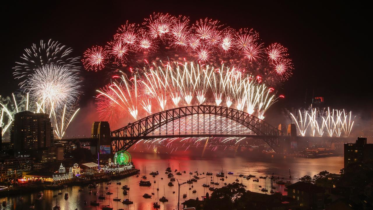 Those who attended the fireworks were left furious after the long delays. Picture: Scott Barbour/Getty Images