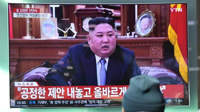 Kim Jong Un issues threats, calls for new summit with President Trump