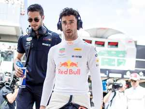 Ricciardo messed up by mind games