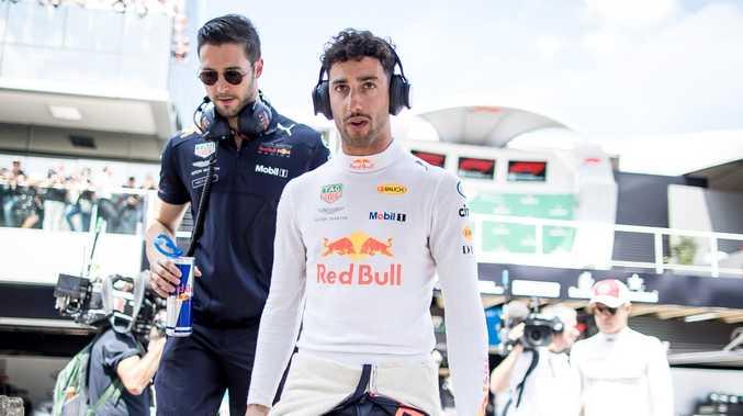 Daniel Ricciardo had a tough time deciding where to go.