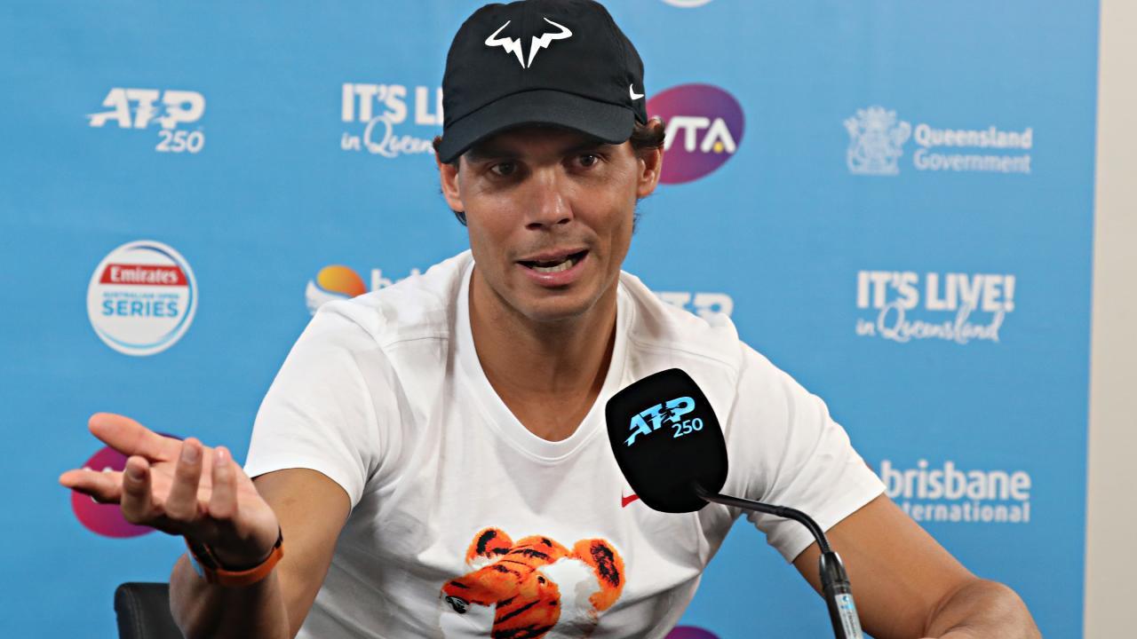 Rafael Nadal. Pic Annette Dew