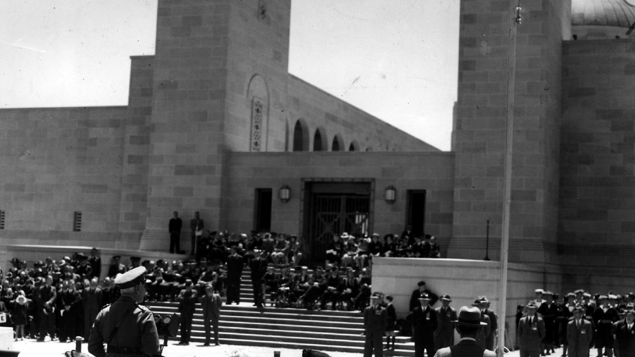 The Australian War Memorial was opened in Canberra in 1941.