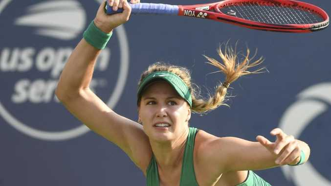 Eugenie Bouchard somehow finds the time to fit in tennis. Picture: Getty Images