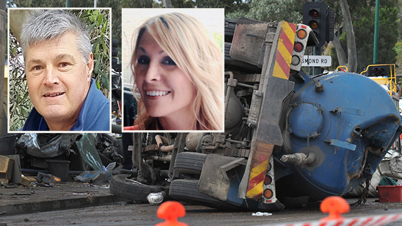 Tom Spiess, 56, and Jacqui Byrne, 41, died on August 18, 2014, when a truck crashed into cars at the bottom of the South Eastern Freeway.