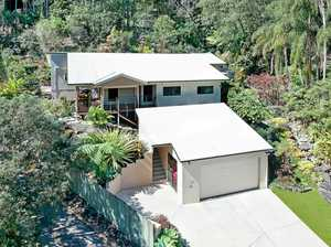 Fresh property in rainforest setting
