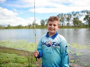 Young Gracemere fishing fan nominated for prestigious award