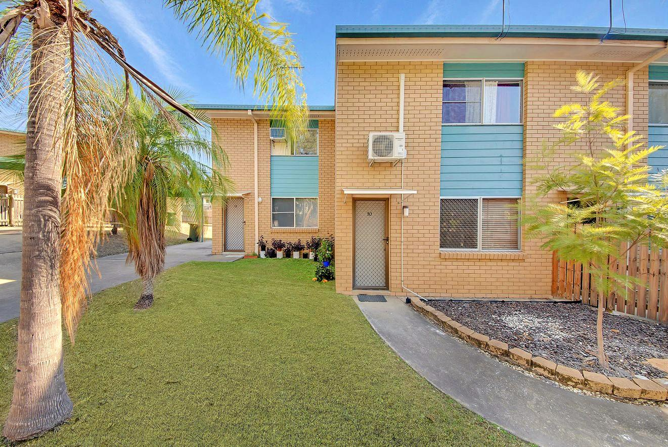 NEAT AND TIDY: Unit 10/16 McCann St is ideal for first home buyers.