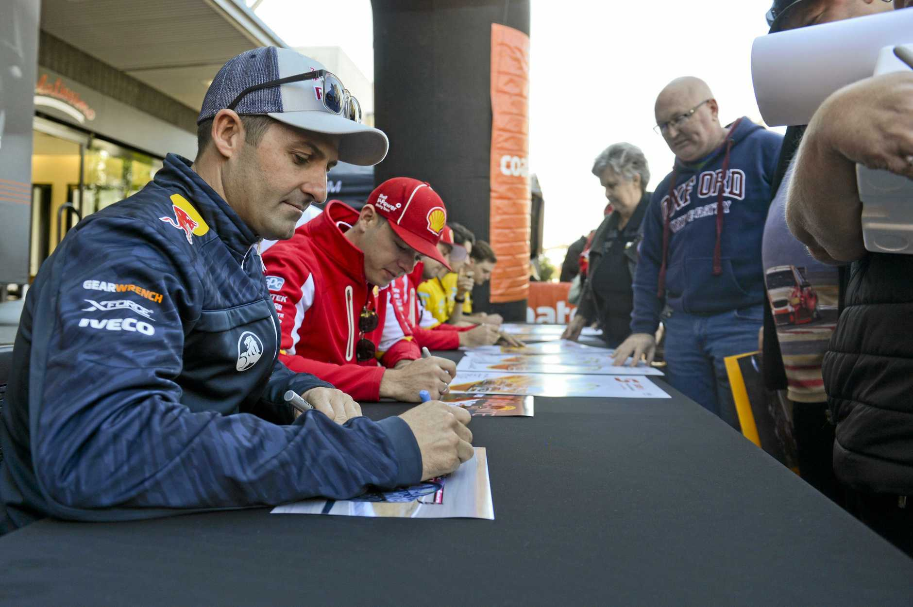 Ipswich SuperSprint, Community Day. JAmie Whincup.