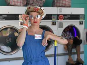 Climb into a washing machine and enter a secret world