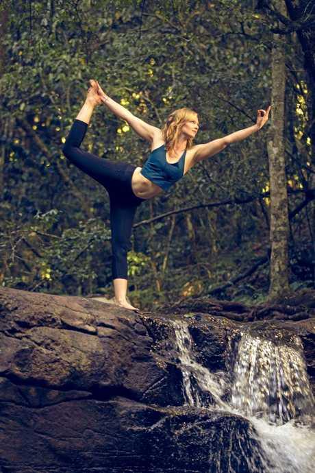 WIND DOWN: Warwick yoga teacher Jes Kerle said practising yoga teaches patience, self-discipline and helps people slow down.