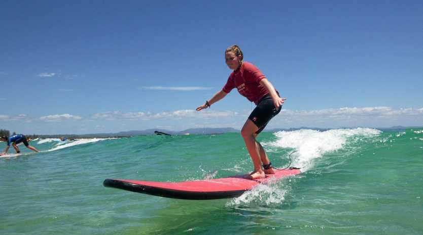 WAVE RAVER: Standing up for good times in Byron Bay