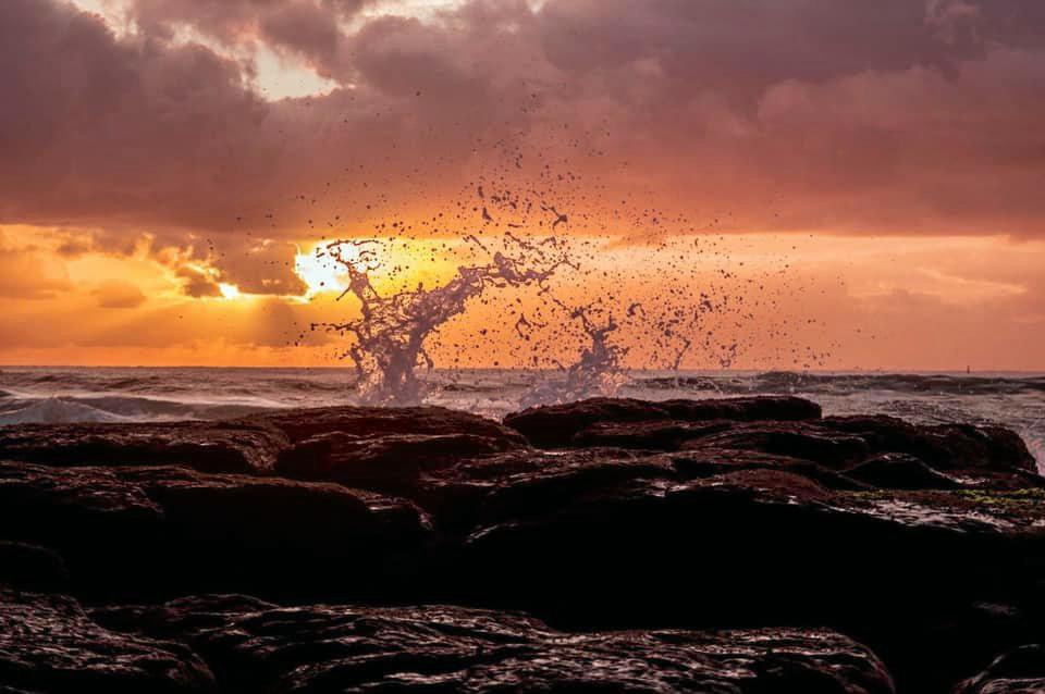Shelley Beach at sunrise.