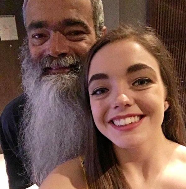 Allan Houston and his daughter Cassie. Alan died in a mine accident at Saraji mine on December 31, 2018.
