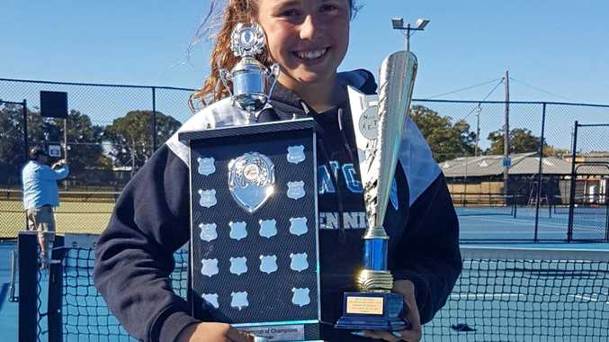 TENNIS: Rising Tweed tennis star Amelia Johnson will be representing NSW in the Red Energy Foundation Cup next month.