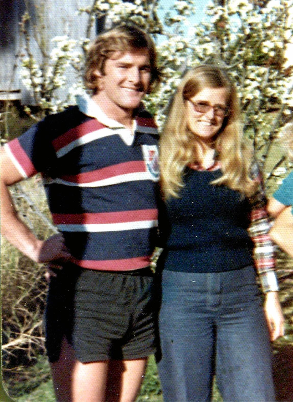 DTM NEWS: Westmead coroners court inquest into Lynette Dawsons suspected death.Lynette and Chris Dawson in 1974