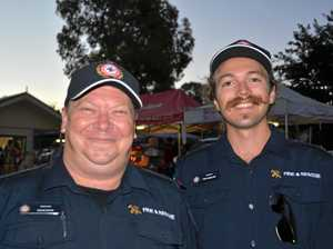 Fire safety at the Yarraman New Year's Day festival
