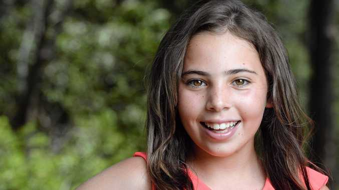 LIGHTS: Springfield Lakes girl Tia Muller is a grand finalist in the Miss Diamond Australia competition.
