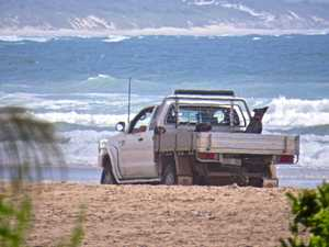 Drivers ignoring signs prohibiting Brooms Head beach access
