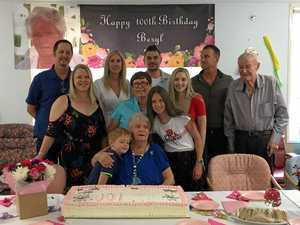 Long-time resident celebrates hitting the century
