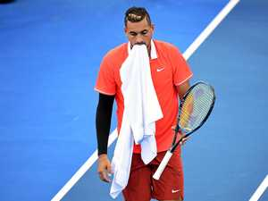 Kyrgios sent packing in Brisbane title defence