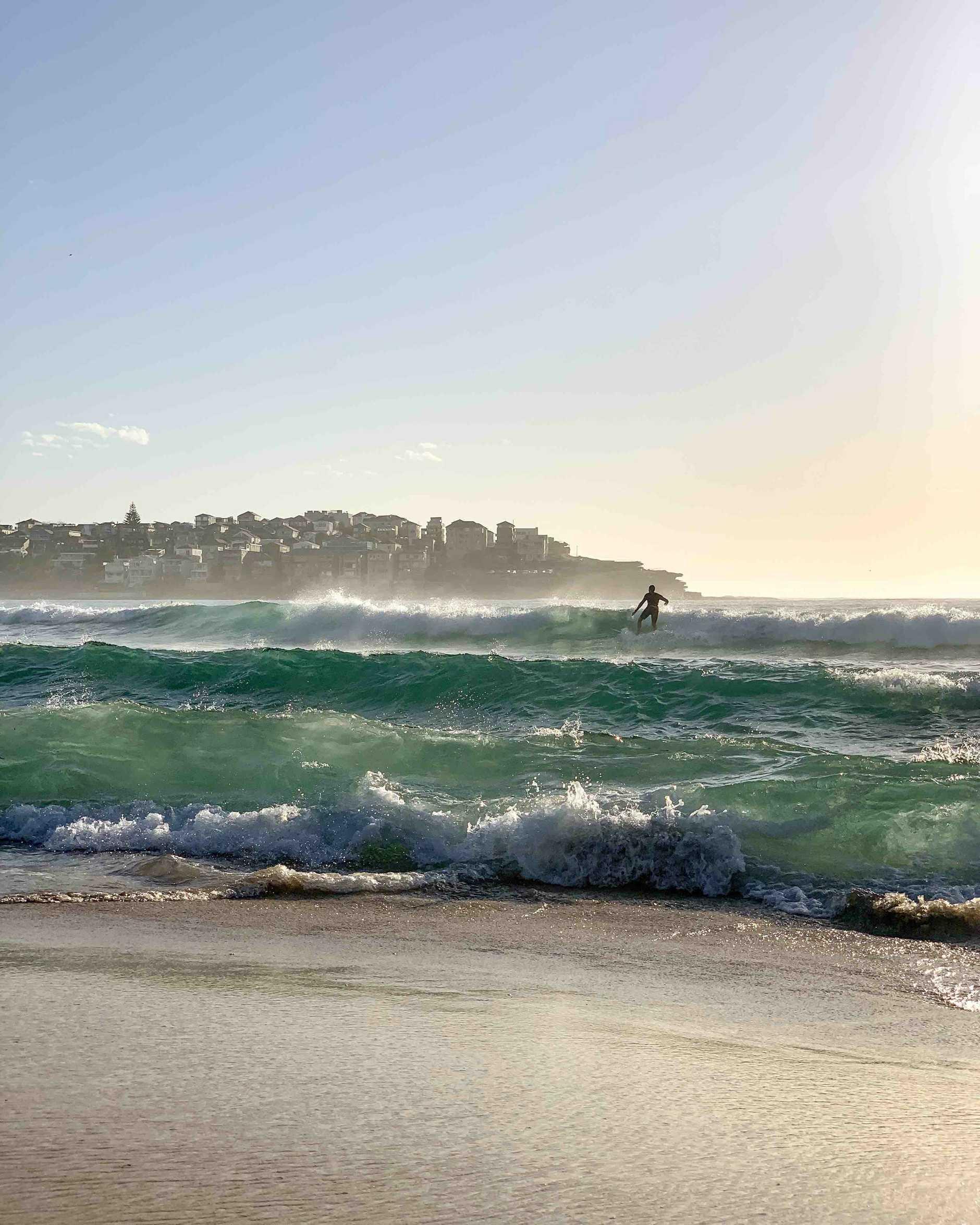 Bondi Beach, 6:56am, iPhone XS Max, native camera