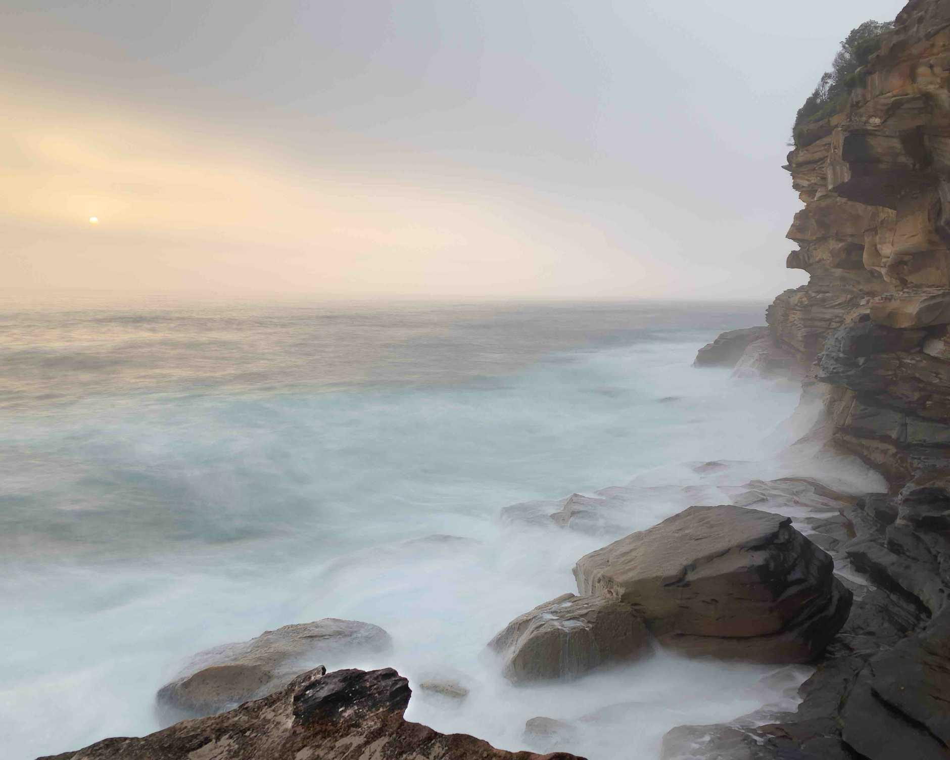 Bronte Beach, 6:04am, iPhone XS Max, SlowShutter