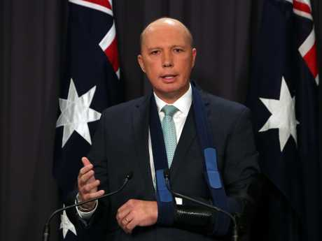 Home Affairs Minister Peter Dutton has declined to discuss the case.