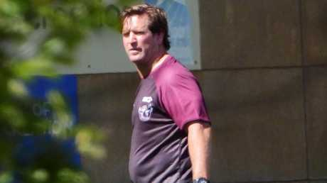 Des Hasler could have a hard time figuring out Manly's best backline. Picture: John Grainger