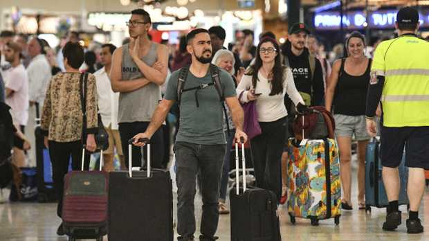 It's expected a record 10 million foreign tourists will visit Australia over the course of the year. Picture: AAP