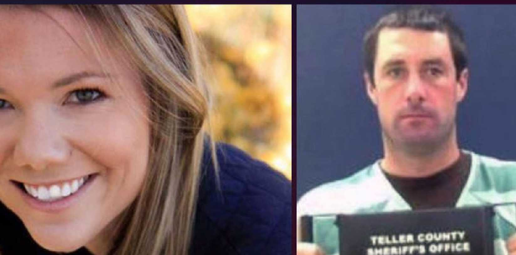 Police are still searching for the body of pilot and new mum Kelsey Berreth (left). Her fiance Patrick Frazee (right) has been charged with her murder. Picture: Supplied