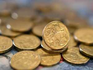 Aussie dollar hits three-year low